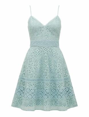 Ever New Selma V-Neck Lace Prom Dress