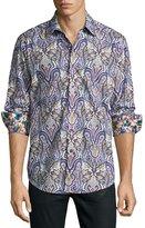 Robert Graham Saint Paisley-Print Sport Shirt, Multi