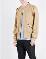The Kooples Officer-style Woven Bomber Jacket