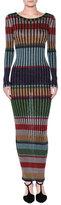 Missoni Striped Lamé Maxi Dress
