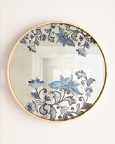 GG Collection G G Collection Large Etch Floral Decorative Tray