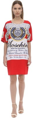 Moschino Sable Printed T-Shirt Dress