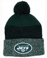 '47 New York Jets Static Cuff Pom Knit Hat