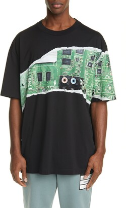 Maison Margiela Circuit Graphic T-Shirt