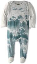 Stella McCartney Rufus Printed Footie (Infant) (Grey) - Apparel