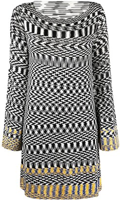 Missoni Embroidered Fitted Dress