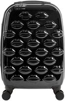 Lulu Guinness Hard Sided 4-Wheel Cabin Case - Black