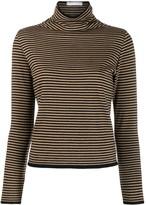 Societe Anonyme striped turtleneck jumper