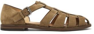 Church's Fisherman Suede Sandals - Mens - Brown