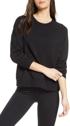 Beyond Yoga Fleece Raglan Sweatshirt