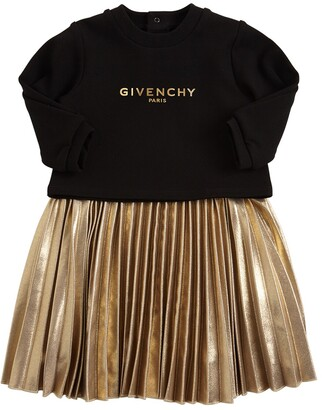 Givenchy 2 In 1 Sweatshirt & Dress W/ Lurex Skirt