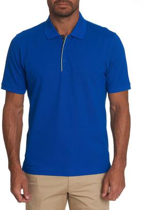 Robert Graham Men's Champion Pique Polo Shirt w/ Piping