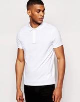 Asos Polo Shirt In White