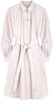 Roksanda Simina light pink cotton shirt dress