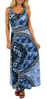 24/7 Comfort Apparel Blue Magic Dress