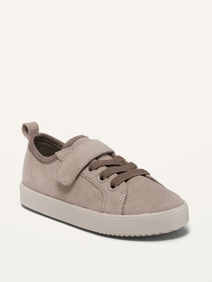 Old Navy Faux-Suede Secure-Close Strap Sneakers for Toddler Boys