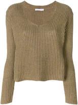 Fabiana Filippi deep V-neck jumper