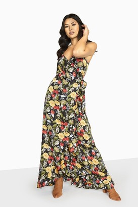 Girls On Film Moore Strappy Maxi Dress