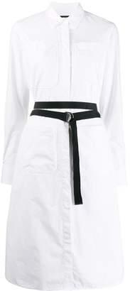 Diesel mid-length belted shirt dress
