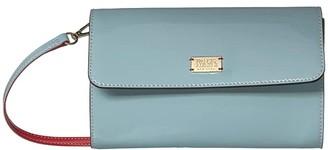 Frances Valentine Kelly Crossbody (Light Blue) Handbags