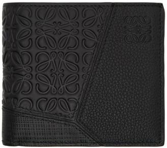 Loewe Black Puzzle Bifold Wallet