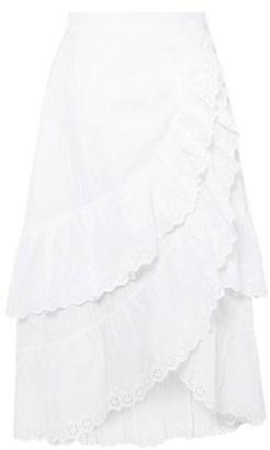 LoveShackFancy 3/4 length skirt