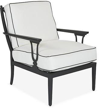 Lane Venture Winterthur Estate Lounge Chair - Black/White