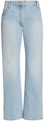 Off-White Flare Cropped Jeans