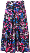 Marc Jacobs abstract print skirt - women - Cotton/Spandex/Elastane - 4