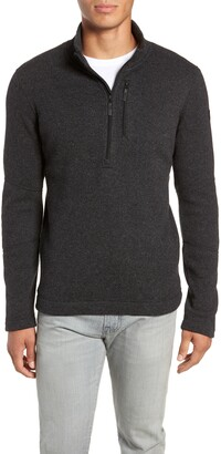 Smartwool Hudson Trail Regular Fit Fleece Half-Zip Sweater
