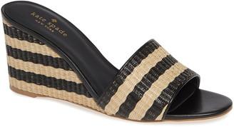 Kate Spade Linda Wedge Slide Sandal