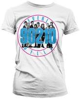 Beverly Hills 90210 T Shirt Cast new Official Womens Skinny Fit
