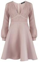 Dorothy Perkins Womens Little Mistress Mink Lace Prom Dress