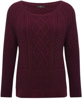 M&Co Cable knit jumper