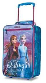 American Tourister Disney by Frozen 2 Softside Kids' Carry-On Luggage