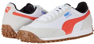 Puma Fast Rider Source White/Hot Coral) Men's Shoes