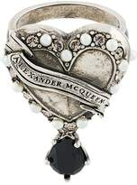 Alexander McQueen Heart Locket ring
