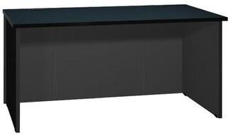 Ironwood Modular Reversible Desk Shell Finish: Black Granite / Black