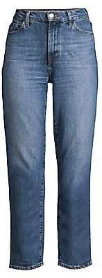 J Brand Women's Jules High-Rise Straight Leg Jeans