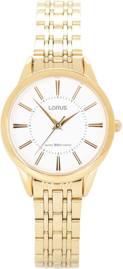 Lorus Dress Gold Watch RG202NX-9