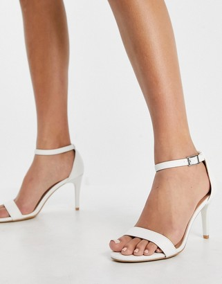 New Look classic heeled sandal in white