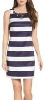 Vince Camuto Women's Embellished Mikado Dress