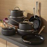 Crate & Barrel All-Clad ® HA1 Hard-Anodized Non-Stick 13-Piece Cookware Set with Bonus