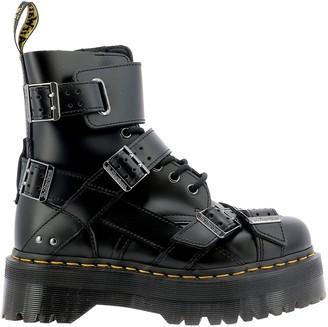 Dr. Martens Jadon Strap Military Boots