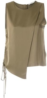 Egrey Satine wrap blouse