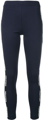 Mr & Mrs Italy Logo Embellished Leggings