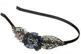 Elle Leaf Filigree Beaded Headband
