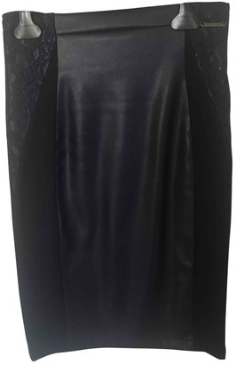 Twin-Set Twin Set Blue Patent leather Skirt for Women