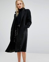 New Lily Newlily Coat with Star Embellishment