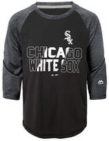 Majestic Boys' Chicago White Sox Box Seats Raglan Ultra T-Shirt